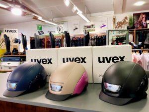 Gewinne den brandneuen Uvex Reithelm elexxion pro ltd
