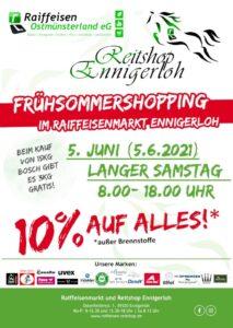 Read more about the article Frühsommershopping im Raiffeisenmarkt Ennigerloh