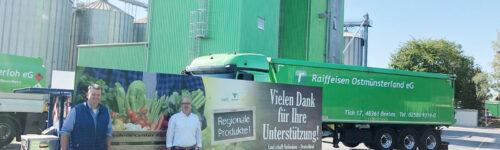 Land schafft Verbindung zu Besuch bei Raiffeisen Ostmünsterland