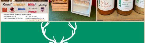 NEU im Outdoorshop Greffen: Grillfleisch und Fertiggerichte vom Wild