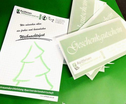 Geheimtipp: Der Raiffeisen Geschenkgutschein